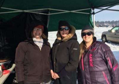 2018 Old Fashioned Ice Fishing Contest concession fundraiser for CILWW