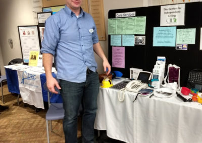 Ben Luer at WITC Health Fair 3-14-18