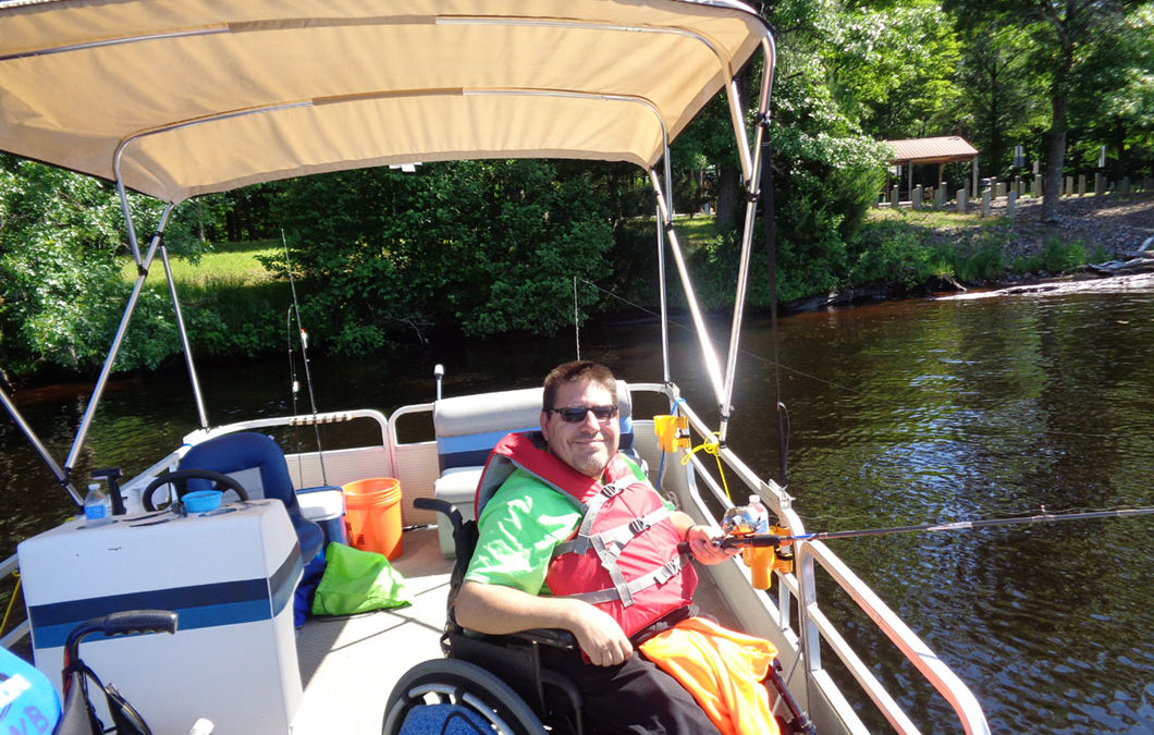 Center for Independent Living of Western Wisconsin Fishing Has No Boundaries