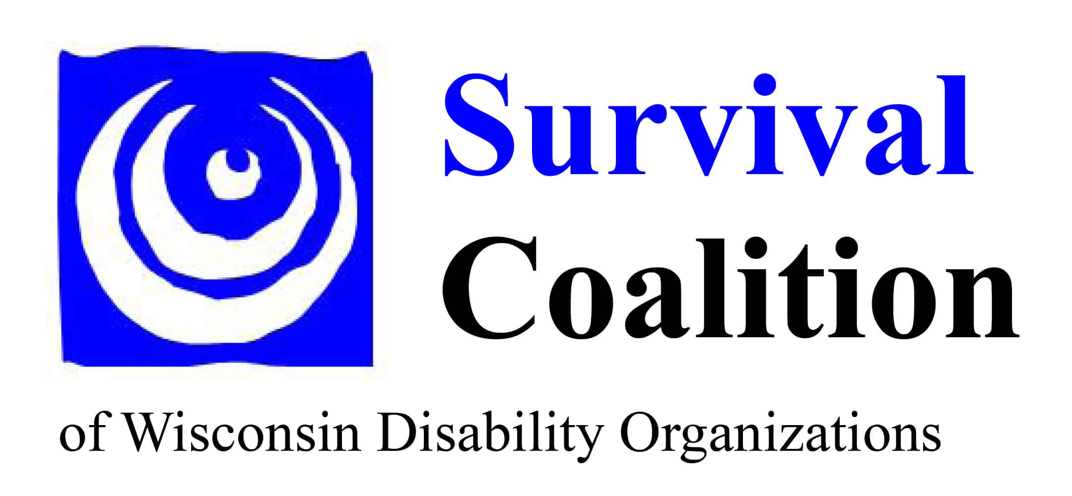 Survival Coalition of Wisconsin Disability Organizations Logo
